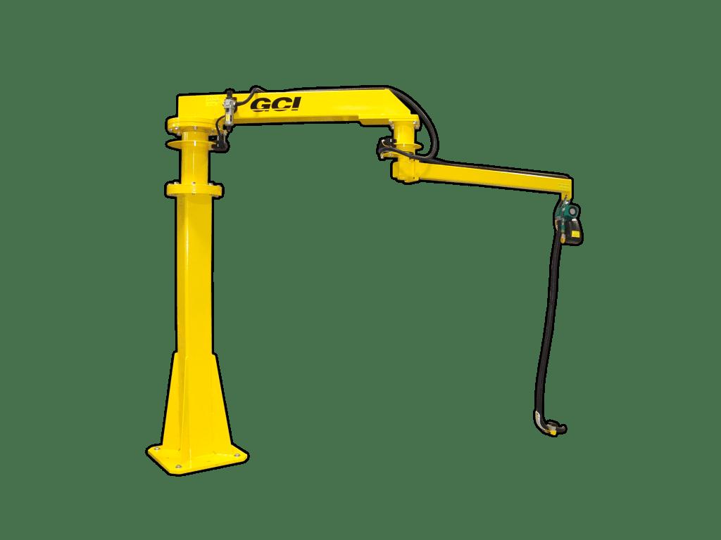 GCI Articulating jib design