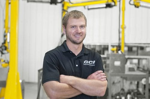 Photo of Sam Goeble, General Manager of GCI Engineered Solutions