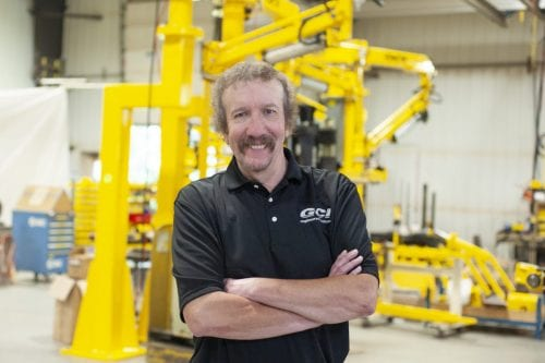 Jeff Goodin of GCI Engineered Solutions