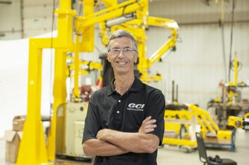 Jeffery Golberg, founder of GCI Engineered Solutions