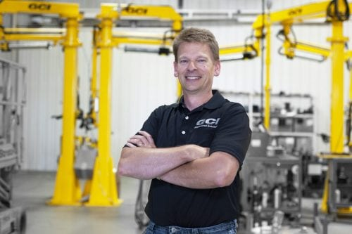 Photo of Todd Gieseke, Professional engineer at GCI Engineered Solutions