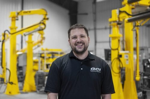 Photo of GCI application engineer, Andy Spranger