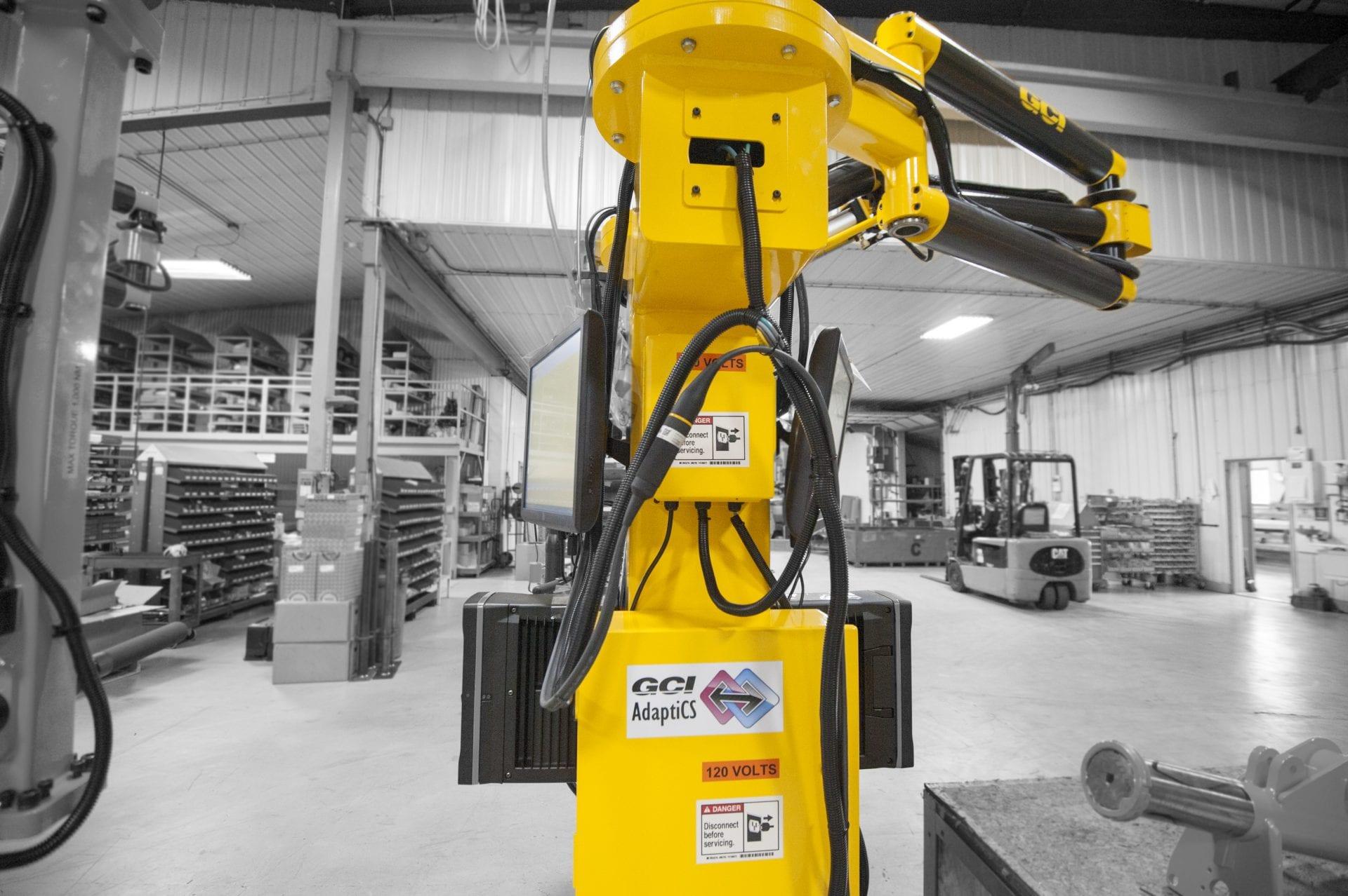 Operators using a GCI 1500 Nm carbon fiber dual torque arm