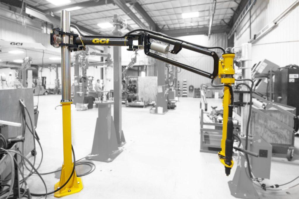 Image of a GCI 375 Nm carbon fiber torque reaction arm